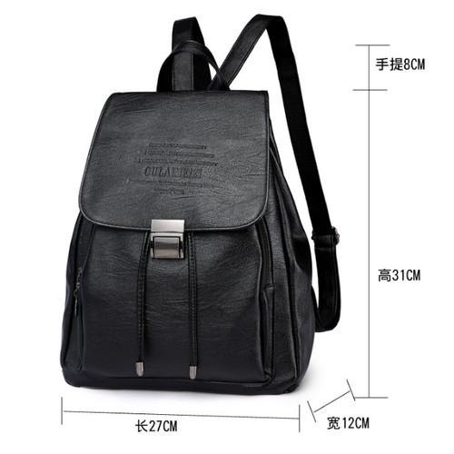 Foto Produk Tas Ransel Import Backpack Wanita Punggung Sekolah Kuliah Kerja 115 dari Tas import Batam 14