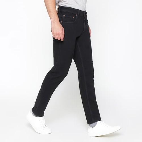 Foto Produk 2Nd RED Jeans Pria Slim Fit Best Seller Melar Raw Wash Hitam 133206 - Hitam, 30 dari 2nd RED Jeans