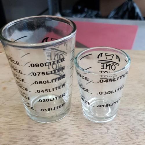 Foto Produk Zuma Espresso Shot Glass Gelas Ukur One Shot Gelas Kopi Coffee - 1.5oz dari ViralShop87