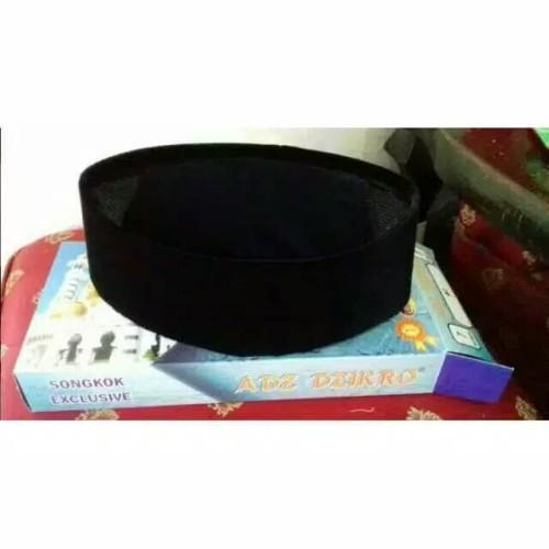Foto Produk Peci songkok hitam exclusif adz dzikro bludru hitam dari Aliffandi