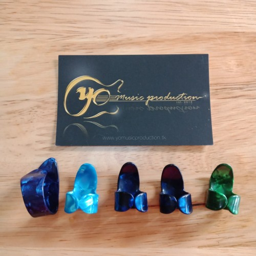 Foto Produk Pick Gitar Fingerpick Thumbpick Jari Jempol dari YoMusicProduction