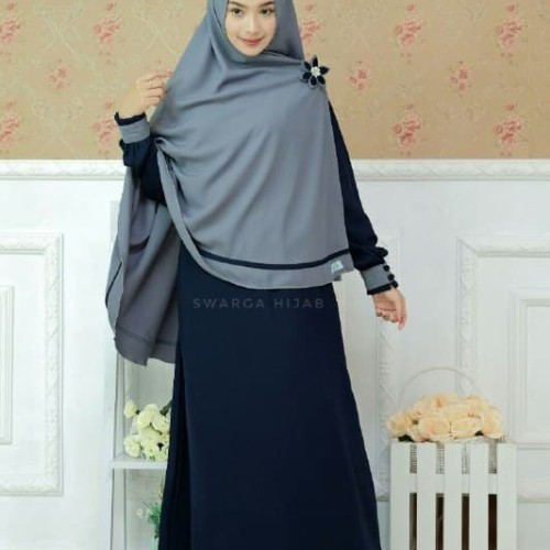 Jual Set Gamis Firda Navi By Swarga Hijab Kab Tulungagung Galeri Busana Syari Tokopedia