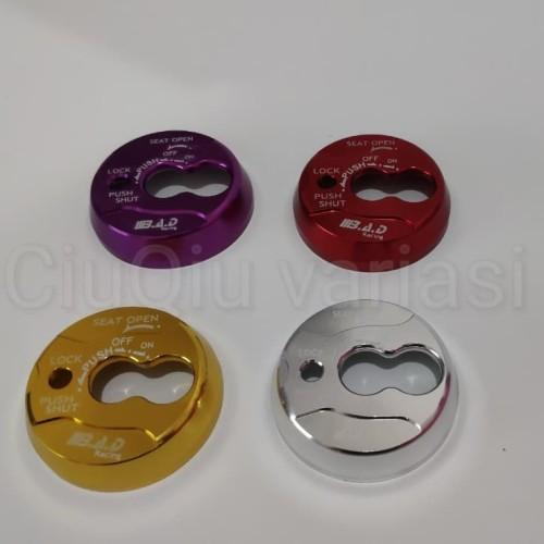 Foto Produk Cover Tutup Kunci Kontak CNC NMAX dari CiuQiu Variasi