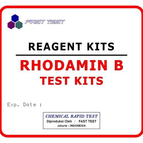 Foto Produk Test Kit Rhodamin B, Alat Uji Cepat Kandungan Pewarna Rhodamine-B dari Fast Test