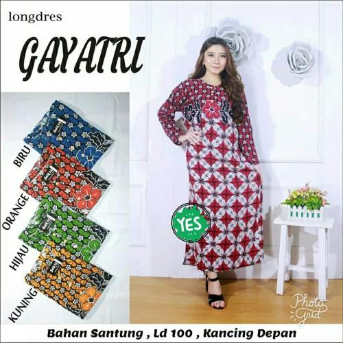 Foto Produk Longdress batik / daster lengan panjang / daster muslim / daster murah dari RisqianaBatik