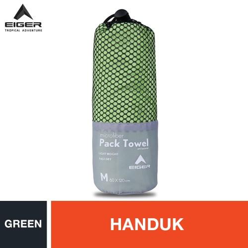 Foto Produk Eiger Pack Towel - Green M dari Eigerindo Store