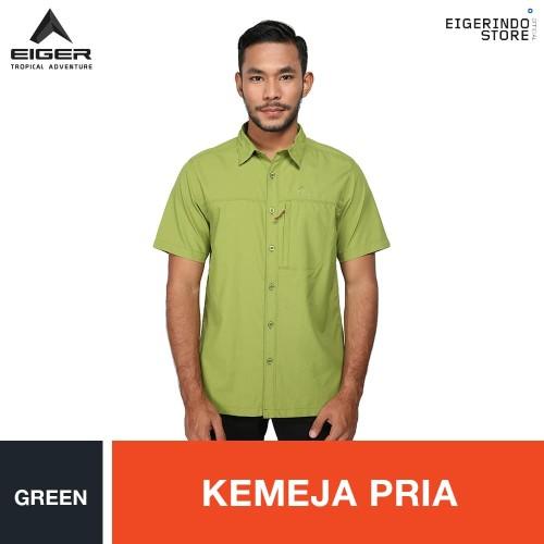 Foto Produk Eiger Elevation 1.0 OL Shirt - Green - Hijau muda, S dari Eigerindo Store