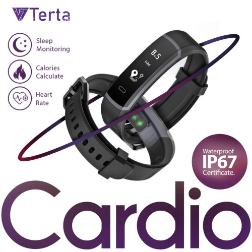 Foto Produk Terta Cardio Smartband - dynamic Heart rate Monitor Waterproof dari Terta Official Store