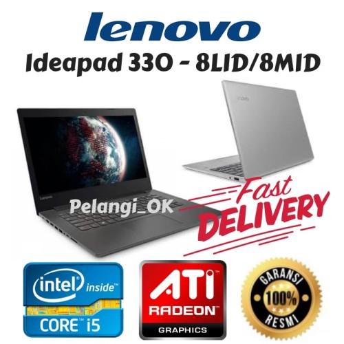 Foto Produk Laptop LENOVO IP 330 - 8LID/8MID core i5/ATI RADEON/DOS/RESMI dari Pelangi_ok