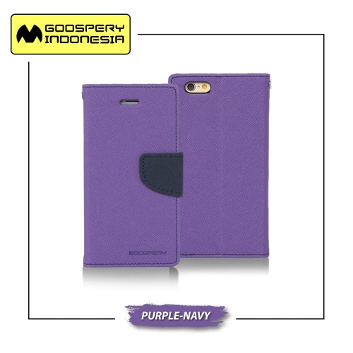 Foto Produk GOOSPERY iPhone 7 Plus Fancy Diary Case - Purple-Navy dari Goospery Indonesia