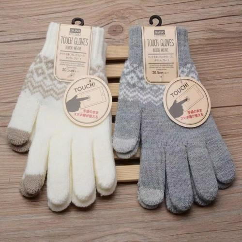 Foto Produk Sarung Tangan Rajut Winter Musim Dingin Touch Screen / Winter Gloves dari R&M Fashion