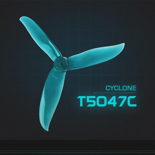 Foto Produk DALProp CYCLONE Series T5047C (3 set) POPO High-end Triblade Propeller dari DooFPV