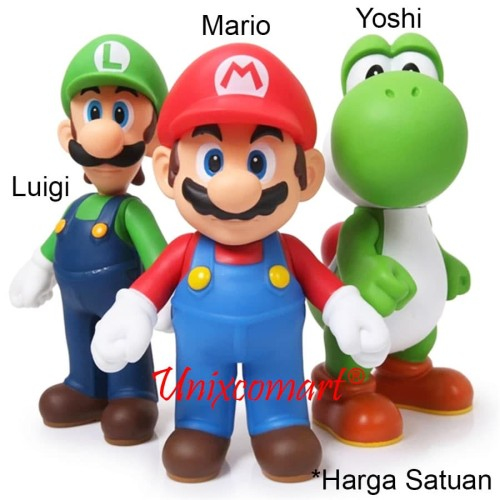 Foto Produk Super Mario Bros Figure and Friends - Mario dari Unixcomart