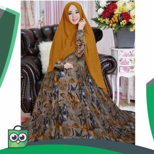 Foto Produk Gamis syari busana muslim paramita kuning dari Fitri Shop.ID