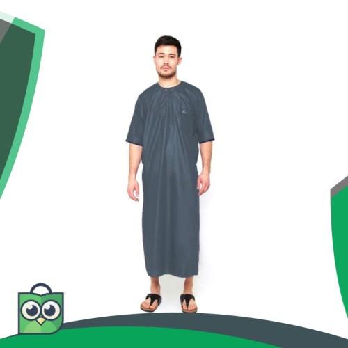 Foto Produk JUBAH ARABI - Pakaian Muslim Gamis Pria Lengan Pendek Al-Isra dari Fitri Shop.ID