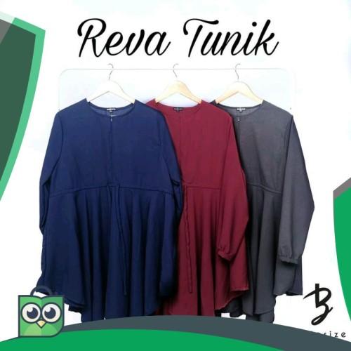 Foto Produk Reva Tunik - Navy dari Fitri Shop.ID