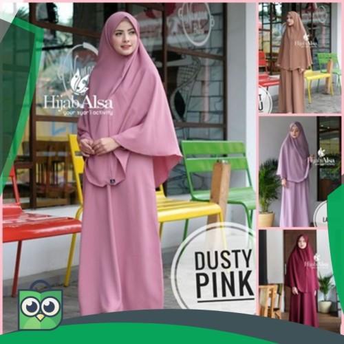 Foto Produk Hijab Alsa Gamis Mafaza/Only Gamis/ Gamis Syari dari Fitri Shop.ID