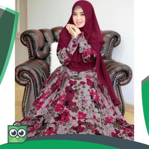 Foto Produk Gamis Syari Wulan Kece Badai Top Seller 3 dari Fitri Shop.ID