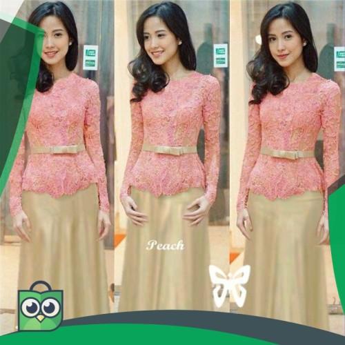 Foto Produk HOPYLOVY - MAXI DRESS BRUKAT MELIANA dari Fitri Shop.ID