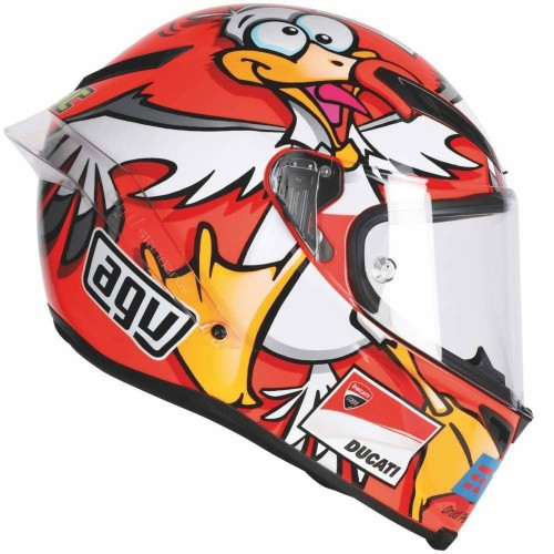 Foto Produk Sticker Decal Helm Desain Agv Seagull Iannone dari IsurGD STORE
