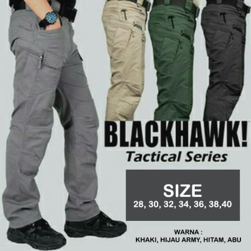 Foto Produk CELANA PRIA BLACKHAWK / CELANA TACTICAL BLACKHAWK PANJANG - Normal dari BUBUU 889