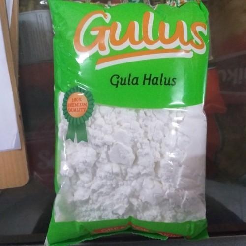 Foto Produk gulus gula halus tepung gula 500gr (tidak menthol) dari DBK Pasar Minggu