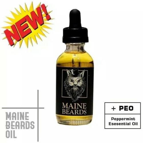 Foto Produk Maine Beards Oil Untuk Menumbuhkan dan Merawat Brewok dan Rambut dari Maine Beards