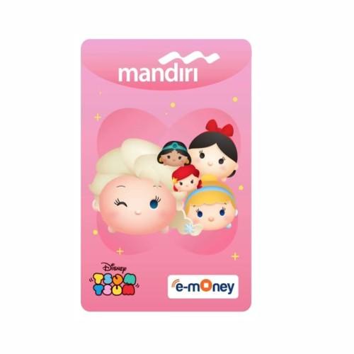Foto Produk MANDIRI E-MONEY SPECIAL EDITION Disney Tsum Tsum Princess dari Mandiri E-Store