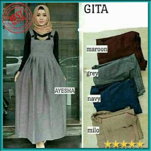 Foto Produk Gita overall baju atasan wanita tunik baju tunik baju atasan tunik dari Salsabila Fashion Store