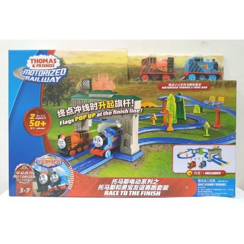 Foto Produk MATTEL, Thomas & Friends Motorized Railway - Race To The Finish dari Top Bricks & Toys