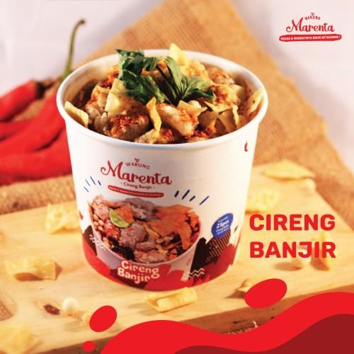 Foto Produk Marenta - Cireng, Cuanki, Batagor, Seblak, Cuanki soto, Soto Jamur - Seblak Banjir dari Foodist