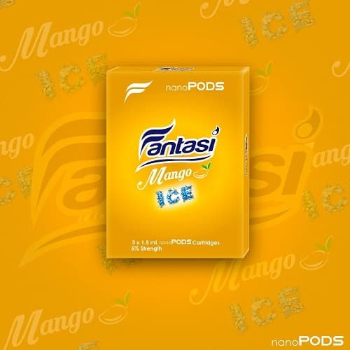 Foto Produk nanoPODS Mango Ice (Light) dari Nanostix Indonesia