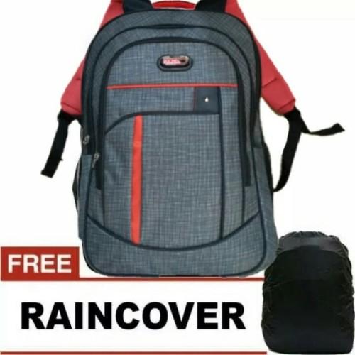 Foto Produk Bag Pack Polo Abu, Tas Ransel Polo Abu, Tas Ransel Pria, Ransel Murah dari harry28shop