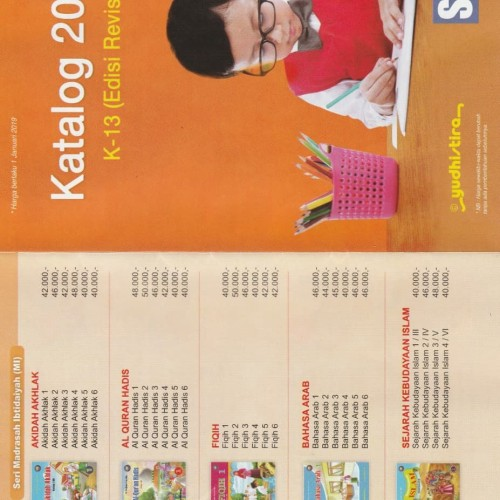 Foto Produk Buku Sekolah atau buku referensi Yudhistira dari OBR Asesoris