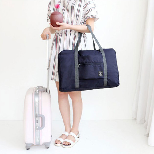 Foto Produk Tas travel besar lipat hand carry anti air Travel fold bag waterproof - BIRUMUDA-FB dari I-Tech Accessories HP