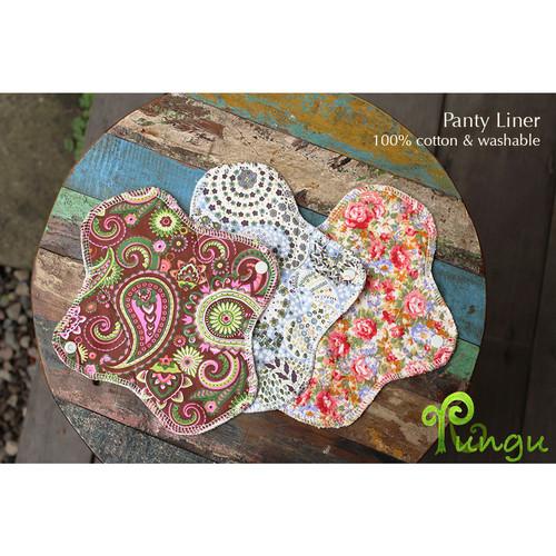 Foto Produk Rungu Panty Liner Kain (100% katun) dari Rungu