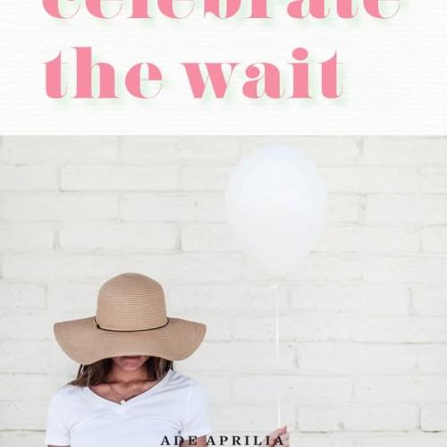 Foto Produk Celebrate the Wait - Ade Aprilia & Irianti Erning Pradja dari buku25