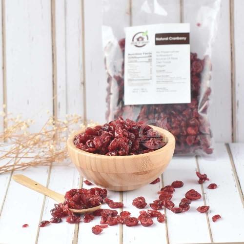 Foto Produk Dried Cranberry (Kranberry Kering) 250 Gr dari House Of Organix
