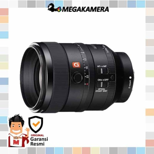 Foto Produk Lens Sony FE 100mm F2.8 STF GM OSS G Master - Lensa Full Frame dari Megakamera