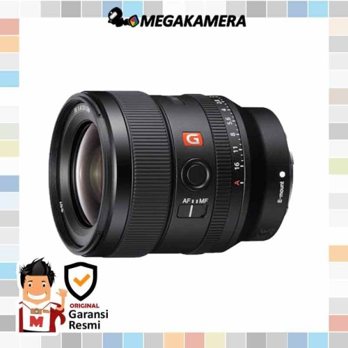 Foto Produk Lensa Sony FE 24mm f1.4 GM Lens Mirrorless dari Megakamera