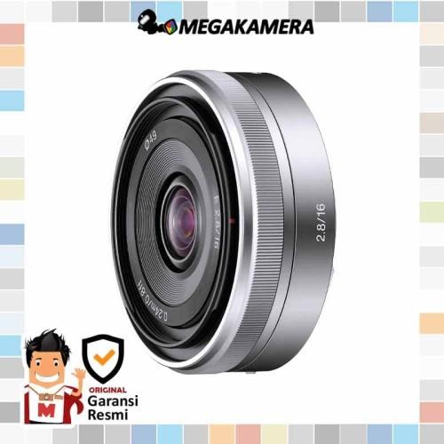 Foto Produk Sony Lens E 16mm F2.8 dari Megakamera