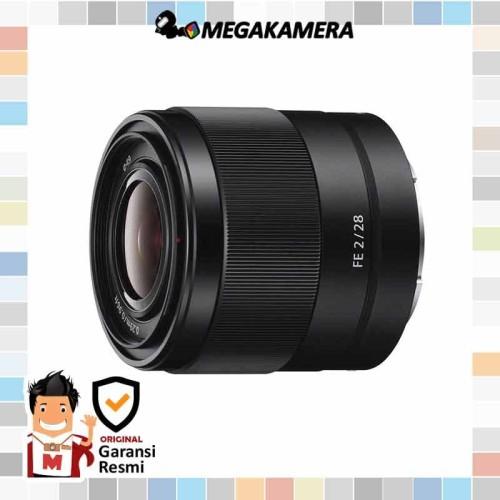 Foto Produk Sony Lens FE 28mm F2 (FullFrame) - Lensa Sony dari Megakamera