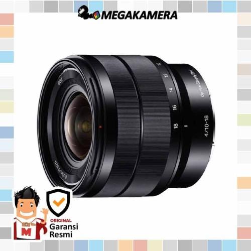 Foto Produk Sony Lens E 10-18mm F4 OSS dari Megakamera