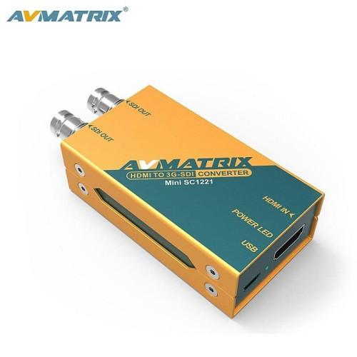 Foto Produk AVMATRIX HDMI TO 3G-SDI MINI CONVERTER+ PSU dari malangelektronik