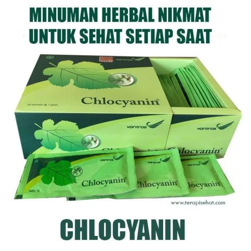 Foto Produk Chlocyanin, Herbal Peningkat Peredaran Darah, Detox dan Pencernaan dari Klik Sehat