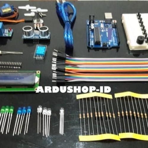Foto Produk Starter Kit Arduino - UNO R3 Compatible DIP Paket Untuk Pemula dari ARDUSHOP-ID