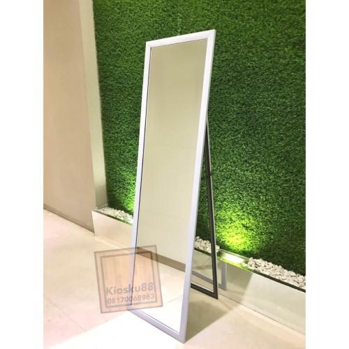 Foto Produk Standing Mirror Cermin Berdiri Full Body Satu Badan Besar dari kiosku88