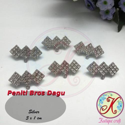 Foto Produk Peniti RIng O Bros Dagu / Bros Juntai per 6pcs dari Kutique Craft