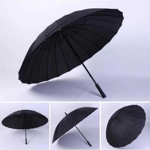 Foto Produk Umbrella Klasik Super Resistant Black dari Flashope