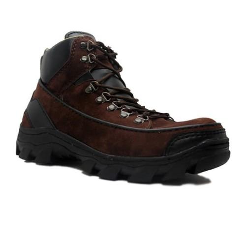 Foto Produk Sepatu Pria Cut Engineer Safety Boots Iron Apple Suede Leather Coklat dari Cut Engineer